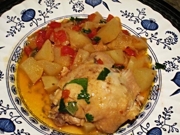 Indian Chicken Stew Recipe
