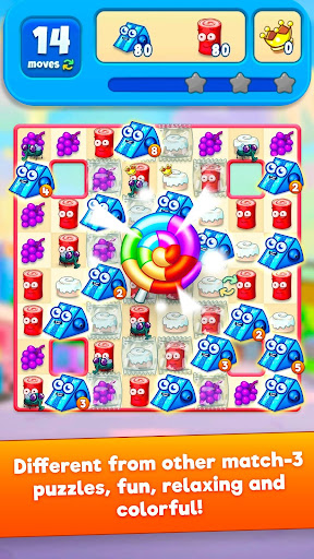 Sugar Heroes - World match 3 game!  screenshots 1