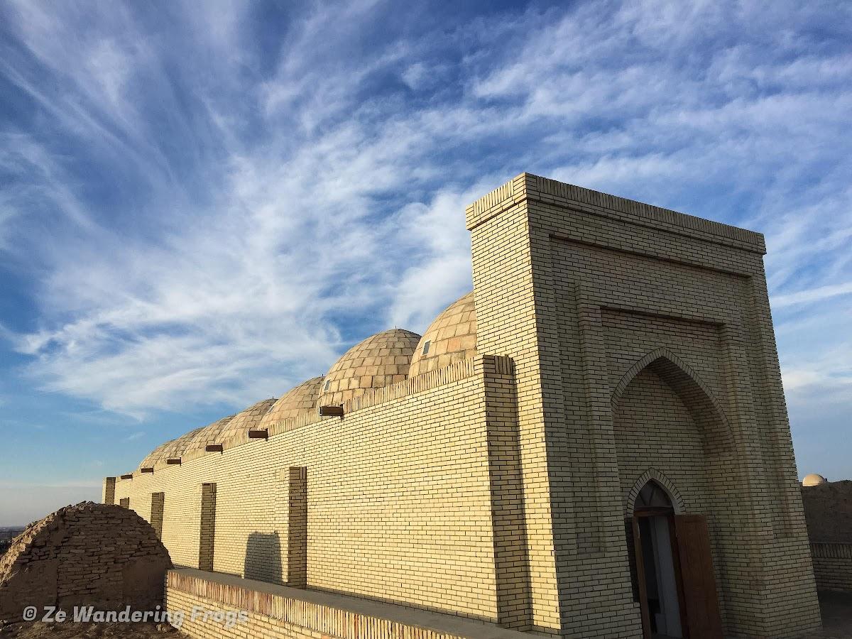 Off-the-Beaten Path Uzbekistan: A 3-Day Aral Sea Tour // Seven-domed Mausoleum of Shamun Mabi, Mizdakhan Necropolis