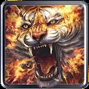 Flame Tiger Live Wallpaper file APK Free for PC, smart TV Download
