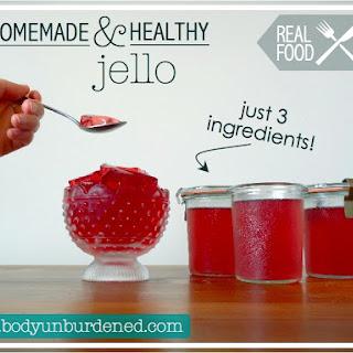 Homemade & Healthy Jello