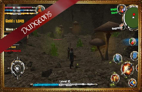 Kingdom Quest Crimson Warden 3D RPG Screenshot