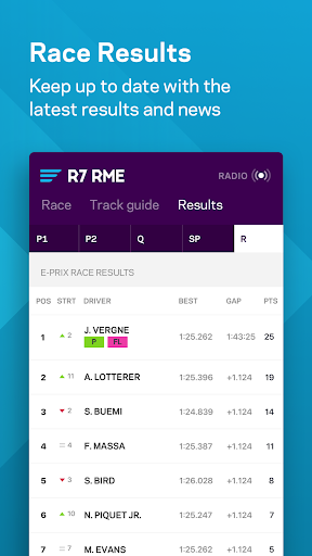formula e app screenshot 3