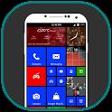 Metro style launcher 8 theme - 2018 icon