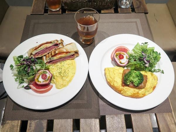 We & Me Cafe -- 捷運市政府站附近文青風格全日早午餐兼咖啡館