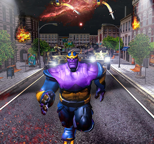 Super Monster Thanos Battle - City Fighting Game 1.1 6