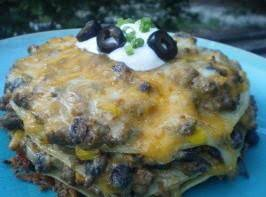 Mexican Stack-up Recipe