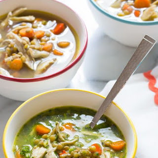 Chimichurri Chicken Lentil Soup