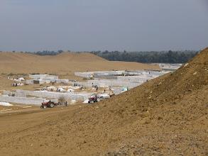 Photo: Construction in high peak...
