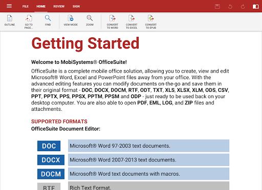 OfficeSuite Pro 7 (PDF & HD) v7.0.1174 APK