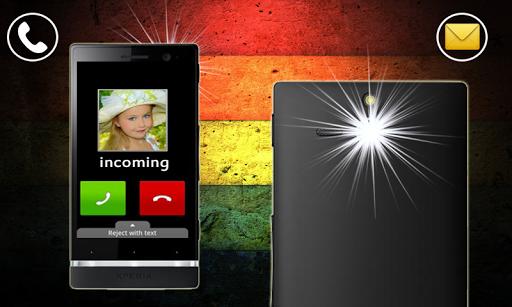 LED FLASH ALERT ON CALL SMS