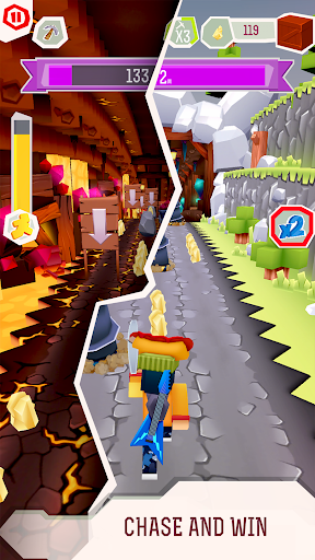Chaseu0441raft - EPIC Running Game apkpoly screenshots 2