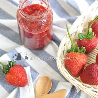 Homemade Strawberry Jam.