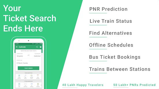Indian Rail Train PNR Status- screenshot thumbnail