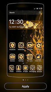 Theme Luxury Gold Rose- screenshot thumbnail