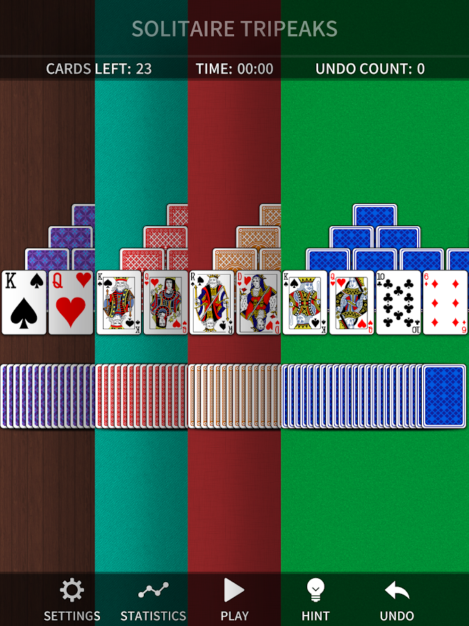 TriPeaks Solitaire Classic- screenshot