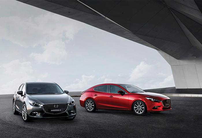 ยังดูสวยไม่สร่างสำหรับ Mazda 3