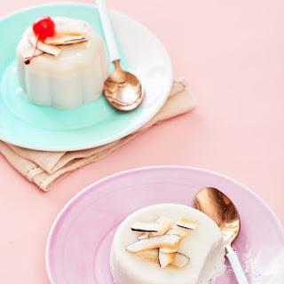 Coconut Panna Cotta.