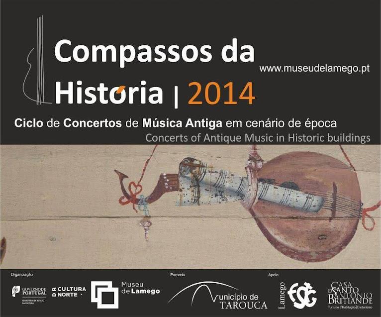 Compassos da História 2014 | De 4 a 6 de julho - Museu de Lamego