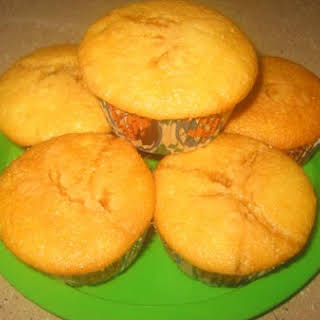 Upside-Down Pineapple Muffins.