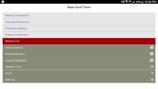 Magic Gavel® Basic- screenshot thumbnail
