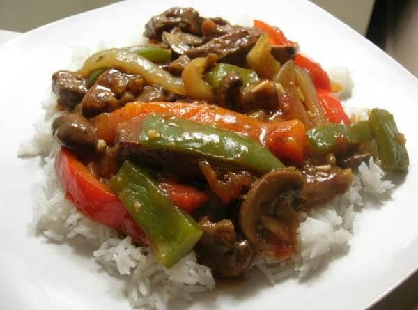 Lisa's Pepper Steak