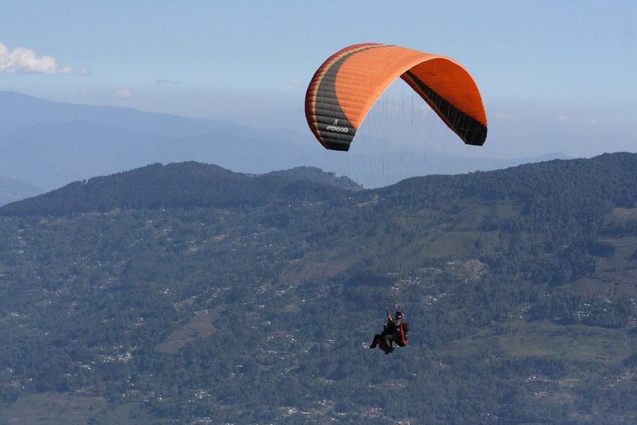 Paragliding Darjeeling Kalimpong