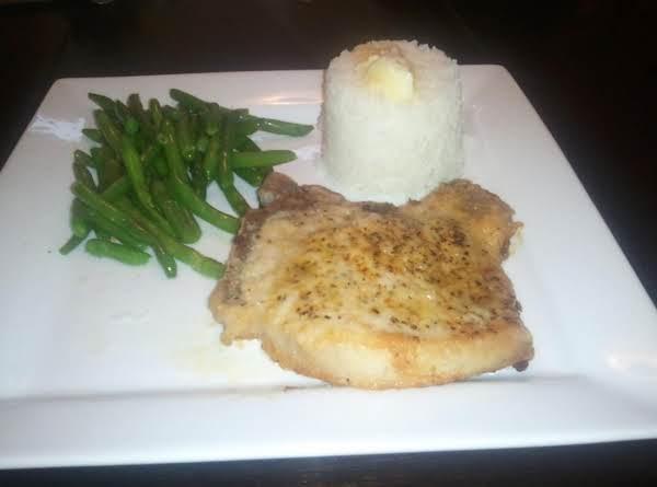 Jody's Lemon Pepper Pork Chops With Jasmine Rice Recipe