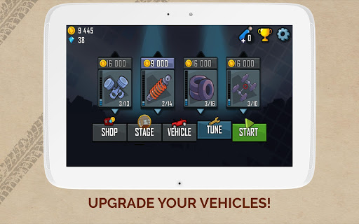 Hill Climb Racing screenshot 8