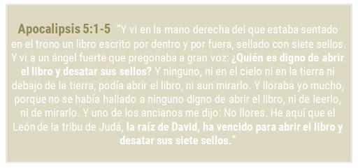siete sellos, raíz de David