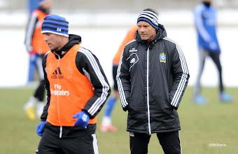Photo: v.l. Slobodan Rajkovic, Trainer Thorsten FinkFussball, Hamburger SV, Training