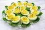 Potato Salad Deviled Eggs