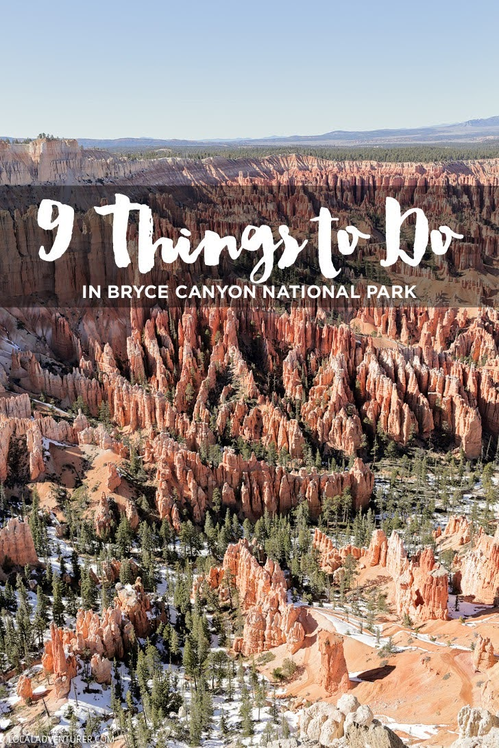 9 Things to Do in Bryce Canyon National Park.