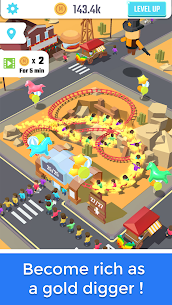 Idle Roller Coaster MOD 1.6.0 (Unlimited Money) 4