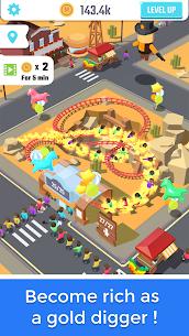 Idle Roller Coaster MOD APK (Unlimited Money) 4