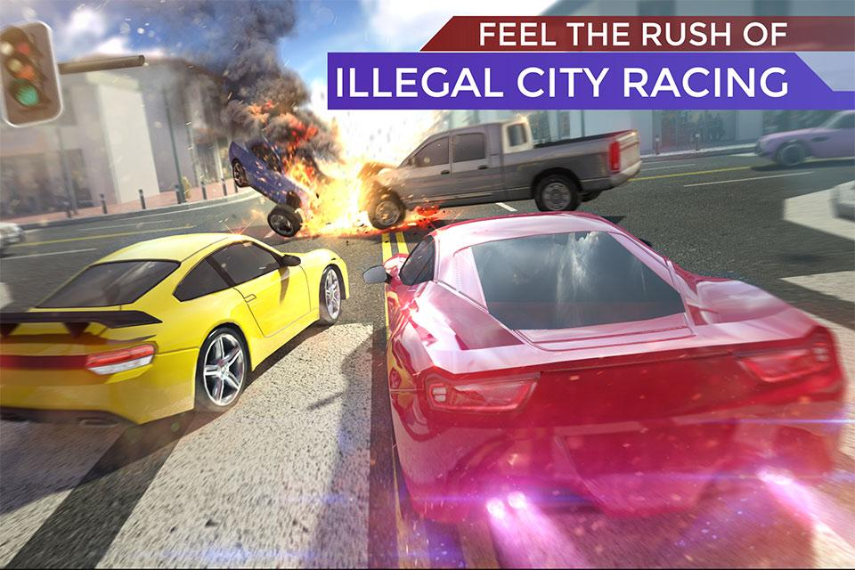 Traffic: Illegal & Fast Highway Racing 5- screenshot