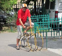 Photo: Ei kovin vauhdikkaita nämä pyörät!