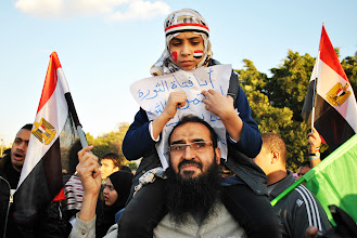 Photo: The Egyptian revolution lives on...