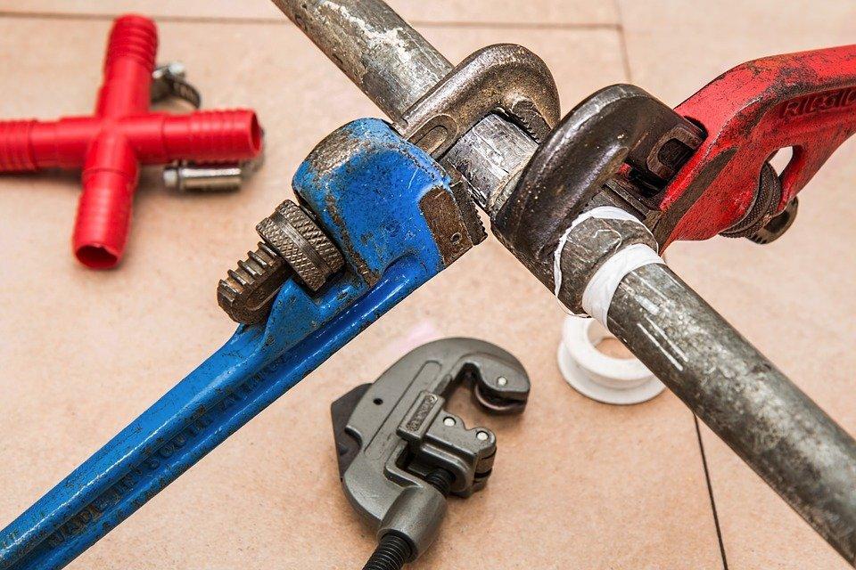 Encanamento, Tubulação, Chaves, Encanador, Reparação
