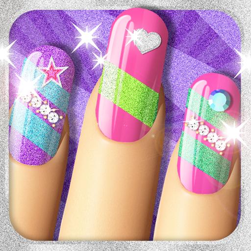 Glitter Nail Salon: Girls Game by Dress Up Star