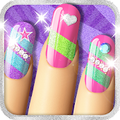 Glitter Nail Salon: Girls Game by Dress Up Star