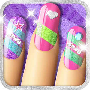 Glitter nail salon girls game by dress up star android apps on glitter nail salon girls game by dress up star prinsesfo Gallery