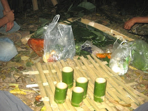 Photo: Prepare food for trekking trail in Luang Namtha, Laos