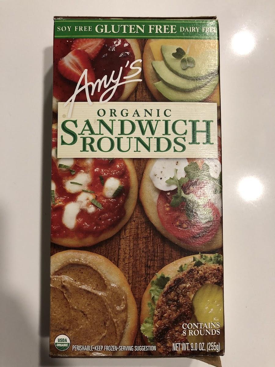 Organic Sandwich Rounds