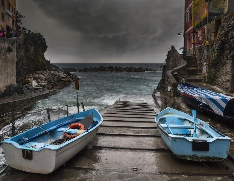 temporale su Riomaggiore di angart71