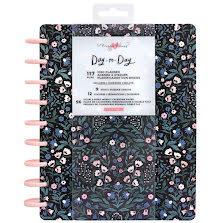 Maggie Holmes Day-To-Day Undated 12 Month Planner 7.5X9.5 - English Garden