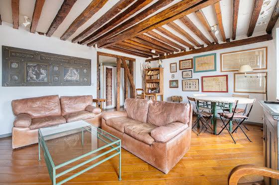 Vente appartement 2 pièces 46,5 m2