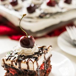 Easy Black Forrest Cake.