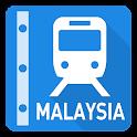 Malaysia Rail Map-Kuala Lumpur icon