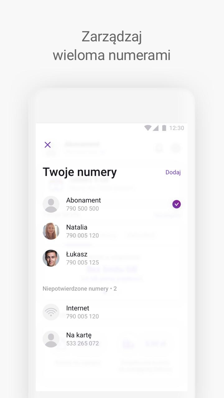 Скриншот Play24 od Play – zarządzaj swoimi usługami